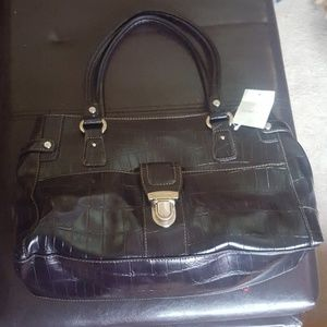 Liz Claiborne leather black purse